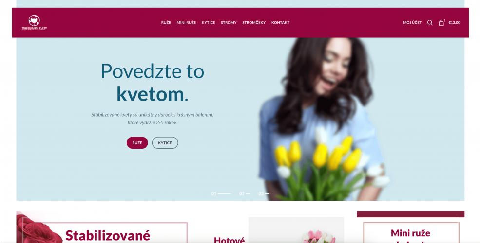 Case study – stabilizovanekvety.sk